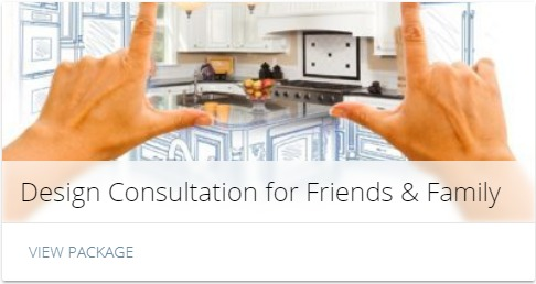 design consultation for friends and family